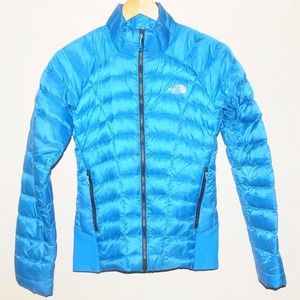The North Face Summit Series Blue Puffer Jacket S